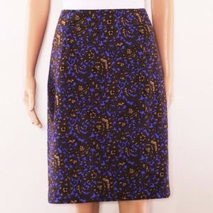 J.CREW sz 8 pencil skirt cotton